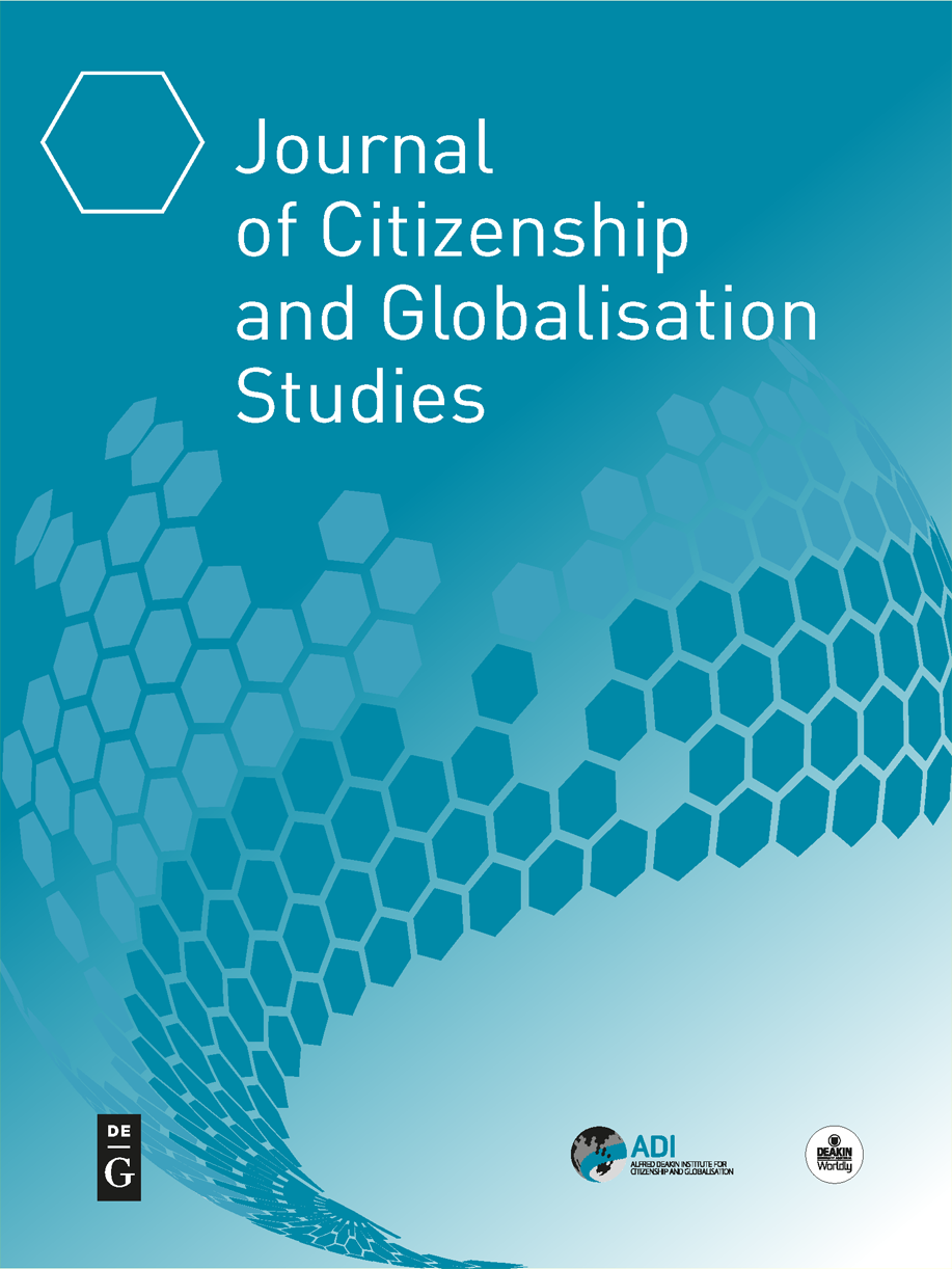 Journal of Citizenship and Globalisation Studies