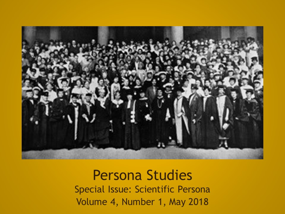Special issue: Scientific Persona. Vol. 4, no. 1